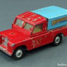 Coches a escala: LAND ROVER CIRCUS CHIPPERFIELDS CORGI TOYS MADE IN GREAT BRITAIN 1/43 AÑOS 60. Lote 122680727
