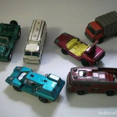 Coches a escala: COCHES DINKY MATCHBOX LESNEY CORGI. Lote 130922920