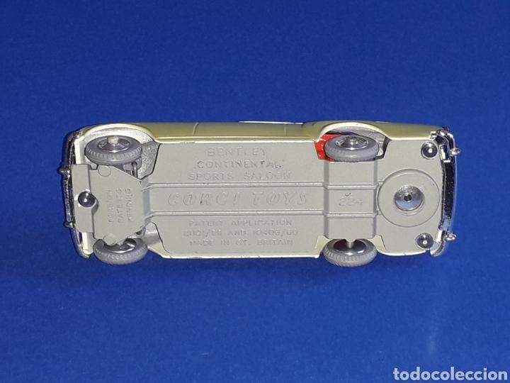 Coches a escala: Bentley Continental Sports ref. 224, metal esc. 1/43, Corgi Toys made in England, original año 1961. - Foto 6 - 133298034