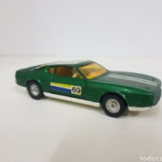 Coches a escala: CORGI TOYS WHIZZ WHEELS FORD MUSTANG MACH 1 VERDE 69. Lote 135109257