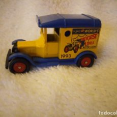 Coches a escala: T FORD VAN CORGI, CAMION WORLD´S RIGGEST LITTLE MOTOR SHOW. Lote 135536878