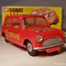 Coches a escala: CORGI 349 MINI MINOR POP ART MOSTEST CONVERSION. Lote 139161422