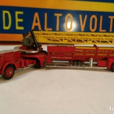 Coches a escala: CORGI MAJOR TOYS MADE IN GT BRITAIN CAMION DE BOMBEROS AMERICAN FRANCE AERIAL RESCUE TRUCK. . Lote 143058874