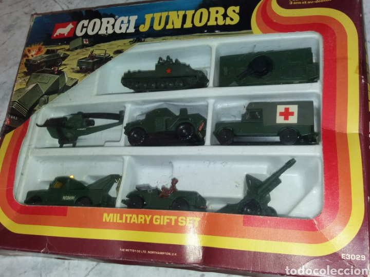 Coches a escala: Corgi Military Gift completo en blister muy escaso - Foto 5 - 145240022