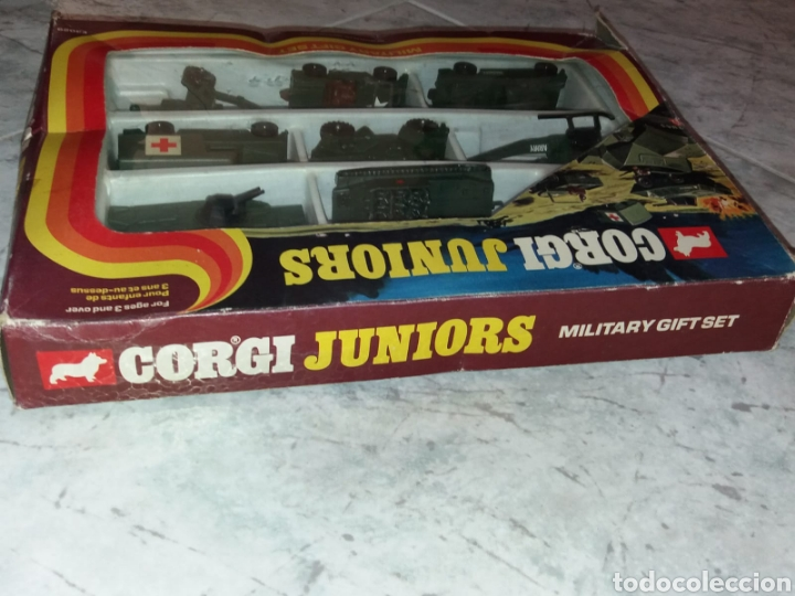 Coches a escala: Corgi Military Gift completo en blister muy escaso - Foto 15 - 145240022