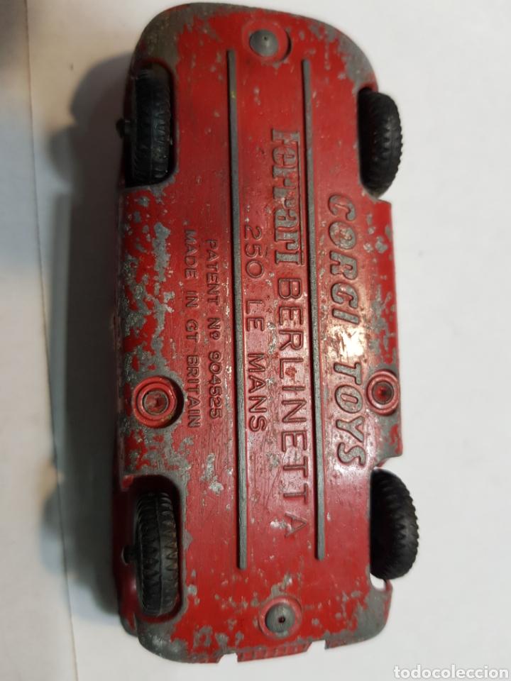Coches a escala: Ferrari Berlinetta 250 Le Mans de Corgi Toys - Foto 5 - 145731450