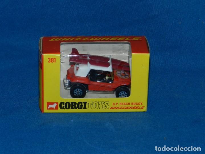 (M) CORGI TOYS GP BEACH BUGGY WHIZZWHEELS CON CAJA, BUEN ESTADO (Juguetes - Coches a Escala 1:43 Corgi Toys)