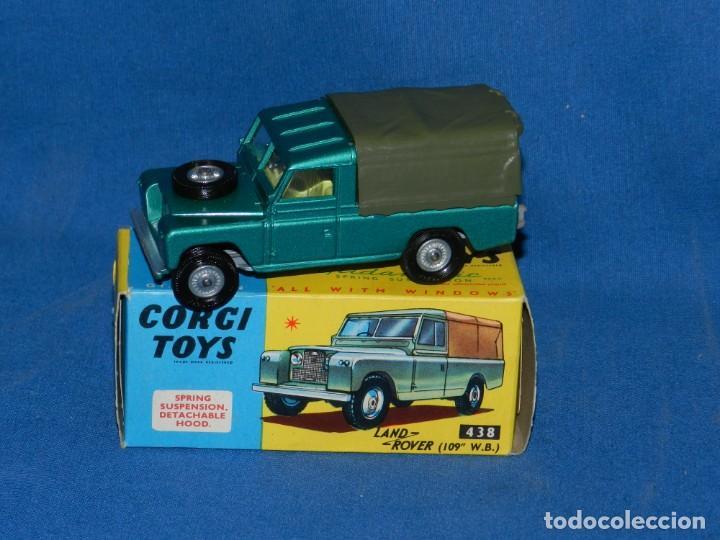 (M) CORGI TOYS LAND ROVER CON CAJA, BUEN ESTADO (Juguetes - Coches a Escala 1:43 Corgi Toys)