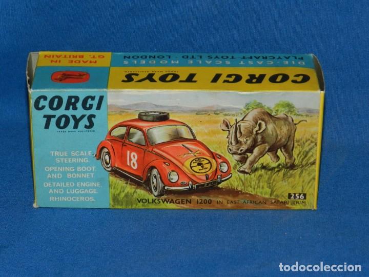 (M) CORGI TOYS VOLKSWAGEN 1200 AFRICAN SAFARI , CAJA VACIA , BUEN ESTADO (Juguetes - Coches a Escala 1:43 Corgi Toys)