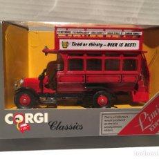 Coches a escala: COCHE FURGON THORNYCROFT BUS DE CORGI. Lote 152669490
