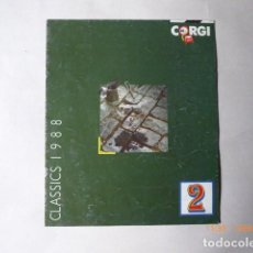 Coches a escala: CATALOGO GORGI, ESCALA 1,43, CLASICS, 1988, . Lote 153369922