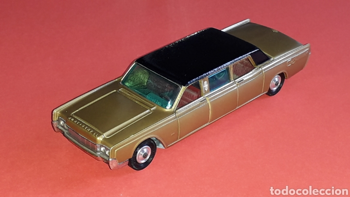 Coches a escala: Lincoln Continental ref. 262, esc. 1/43, Corgi Toys made in Great Britain. Original años 60. - Foto 2 - 153890554
