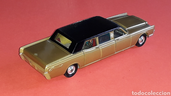 Coches a escala: Lincoln Continental ref. 262, esc. 1/43, Corgi Toys made in Great Britain. Original años 60. - Foto 6 - 153890554
