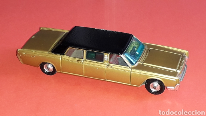 Coches a escala: Lincoln Continental ref. 262, esc. 1/43, Corgi Toys made in Great Britain. Original años 60. - Foto 7 - 153890554