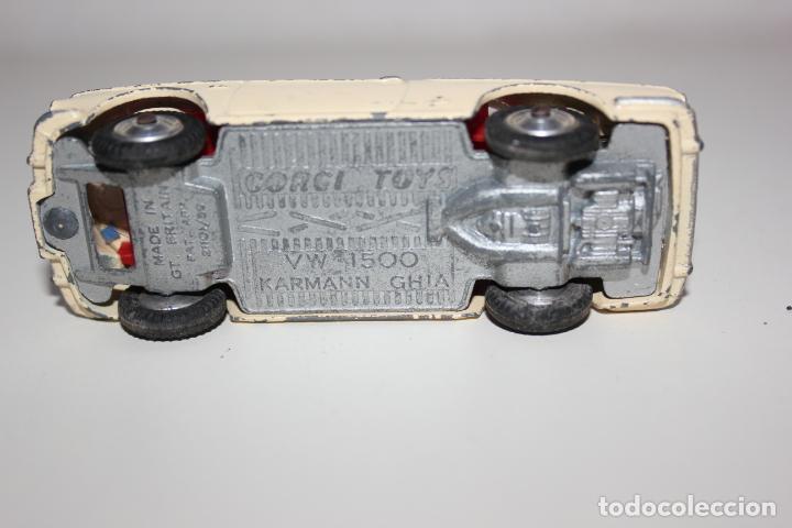 Coches a escala: CORGI TOYS DE 1959, VOLKSWAGEN VW 1500 KARMANN GHIA . VER FOTOS - Foto 5 - 157956798