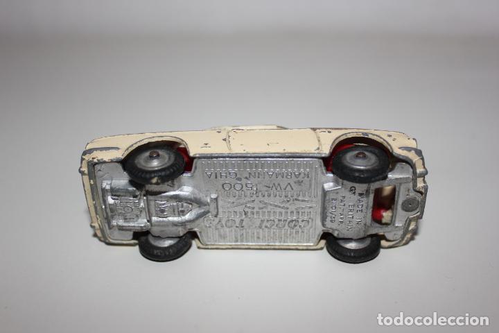 Coches a escala: CORGI TOYS DE 1959, VOLKSWAGEN VW 1500 KARMANN GHIA . VER FOTOS - Foto 4 - 158316378