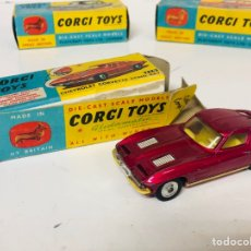 Coches a escala: CORGI TOYS 310 CHEVROLET CORVETTE STING RAY ORIGINAL BOX GT.BRITAIN. Lote 165505694