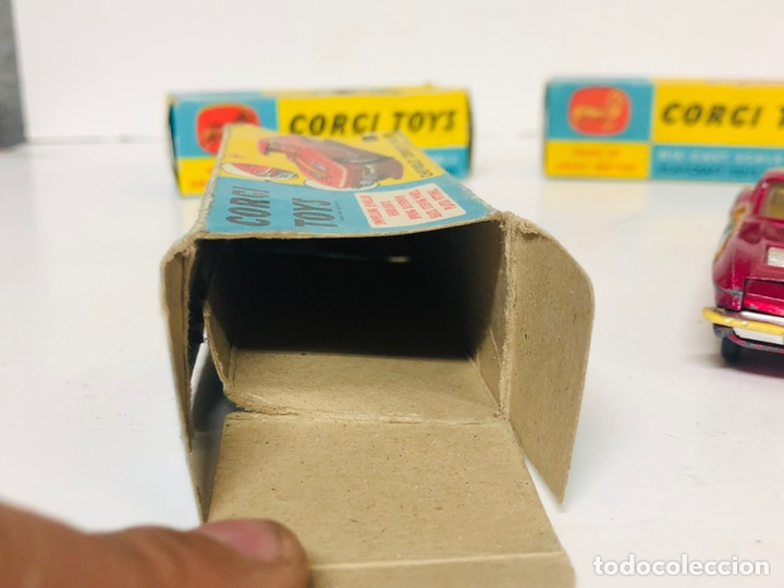 Coches a escala: CORGI TOYS 310 CHEVROLET CORVETTE STING RAY ORIGINAL BOX GT.BRITAIN - Foto 9 - 165505694