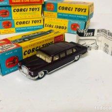 Coches a escala: CORGI TOYS 1/43 - MERCEDES BENZ 600 PULLMAN - RÉF 247 ORIGINAL BOX. Lote 165506510