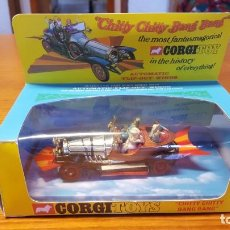 Coches a escala: CHITTY CHITTY BANG BANG - CORGI TOYS. MADE IN GT BRITAIN. CAJA Y PERSONAJES. VER FOTOS.. Lote 176575685