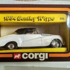 Coches a escala: CORGI. 1954 BENTLEY R TYPE. Lote 167042804