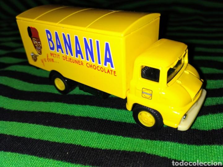 FURGONETA CAMION DE REPARTO . CHOCOLATES BANANIA. CORGI THAMES TRADER (Juguetes - Coches a Escala 1:43 Corgi Toys)