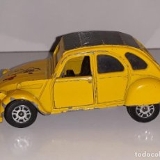 Coches a escala: CORGI TOYS : ANTIGUO CITROEN 2CV 2CV6 AÑOS 70 MADE IN ENGLAND ESCALA 1/60. Lote 171047649