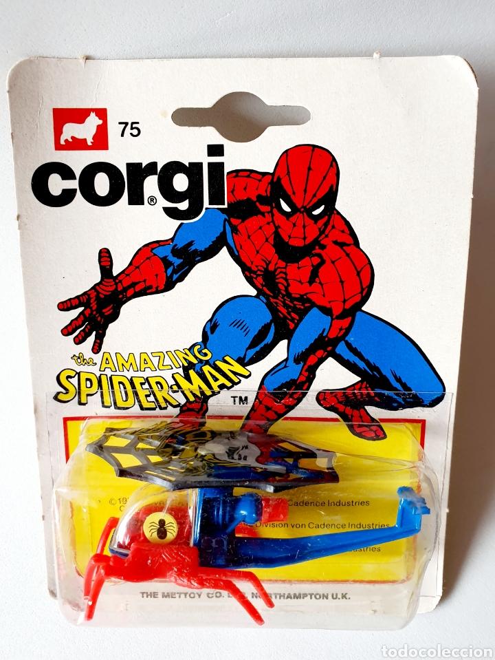 HELICÓPTERO SPIDERMAN CORGI (Juguetes - Coches a Escala 1:43 Corgi Toys)