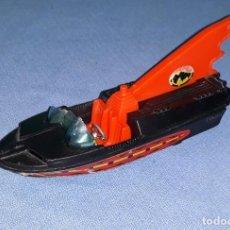Coches a escala: BATMAN BATBOAT GLASTRON DE CORGI TOYS PRIMERA EDICION AÑOS 60 ORIGINAL. Lote 185965600