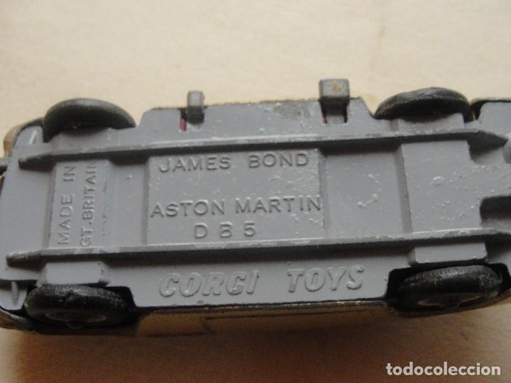 Coches a escala: JAMES BOND ASTON MARTIN D B 5 CORGY TOYS / TODOS LOS GADGETS FUNCIONAN- ENVIO GRATIS - Foto 8 - 186151068