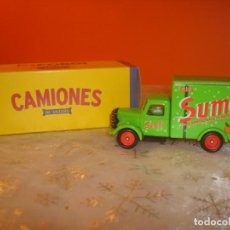Coches a escala: CAMION BEDFORD 30 CWT TRUCK ´SUMOL´. Lote 191620163