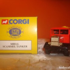 Coches a escala: CAMION SCAMMEL TANKER ´SHELL´. Lote 191630247