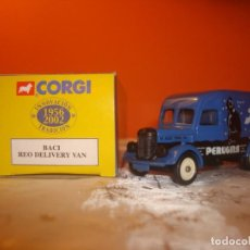 Coches a escala: CAMION REO DELIVERY VAN ´BACI ´. Lote 191636187