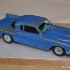 Coches a escala: CORGI TOYS / REF. 211 / STUDEBAKER GOLDEN HAWK / COLOR AZUL / ESCALA 1/43 / AÑOS 50 MADE IN BRITAIN. Lote 191715676