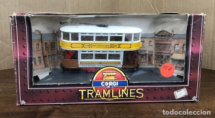 Coches a escala: CORGI TRAMLINES. TRANVIA GLASGOW CORPORATION TRAMWAYS. EN CAJA ORIGINAL, 1986 - Foto 4 - 194787650
