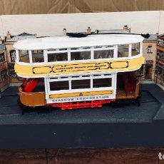 Coches a escala: CORGI TRAMLINES. TRANVIA GLASGOW CORPORATION TRAMWAYS. EN CAJA ORIGINAL, 1986. Lote 194787650