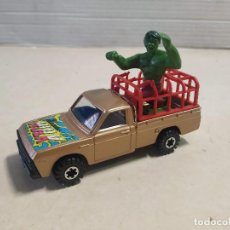 Coches a escala: CORGI MAZDA B1600 PICKUP - THE INCREDIBLE HULK. Lote 195490522