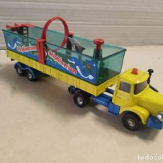 Coches a escala: CORGI MAJOR BERLIET CON ARTICULATED TRAILER DOLPHINARIUM. Lote 195491551