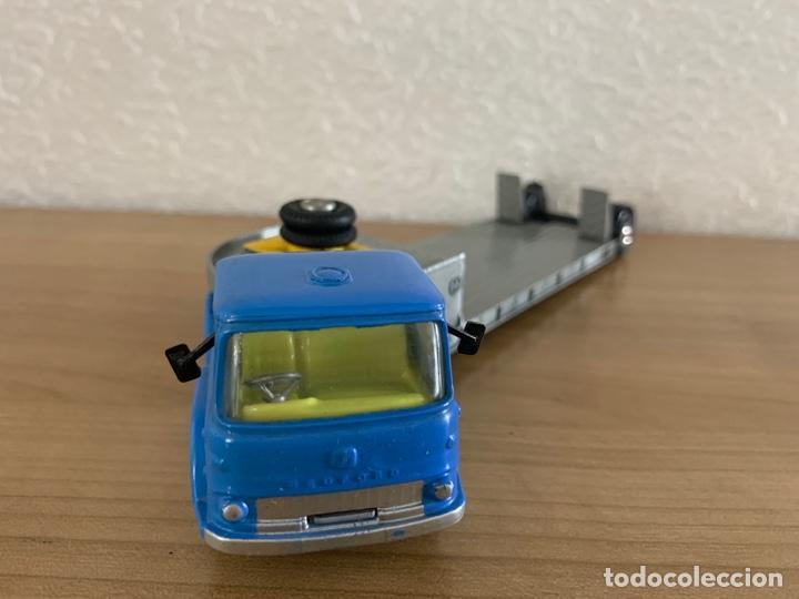 Coches a escala: CORGI TOYS ESCALA 1:43 CAMION TRACTOR BEDFORD CARRIMORE MACHINERY - Foto 2 - 197339946