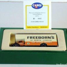 Coches a escala: CORGI TOYS BEDFORD O TYPE FREEBORN'S 97086 MADE IN ENGLAND. Lote 198813435