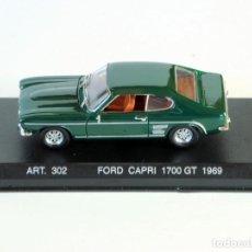 Coches a escala: CORGI DETAIL CARS PLATINUM FORD GT 1700GT 1969 1:43. Lote 198923930