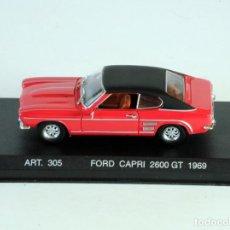 Coches a escala: CORGI DETAIL CARS PLATINUM FORD GT 2600GT 1969 1:43. Lote 198924512