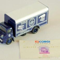 Coches a escala: CORGI CLASSIC COMMERCIALS FORD THAMES TRADER GLACIER MINTS 1:50 REF 30308. Lote 199004626