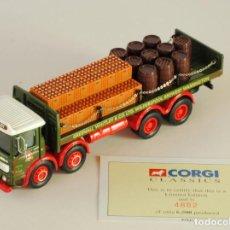 Coches a escala: CORGI CLASSIC COMMERCIALS AEC GREENALL WHITLEY 1:50 REF 97931. Lote 199020503