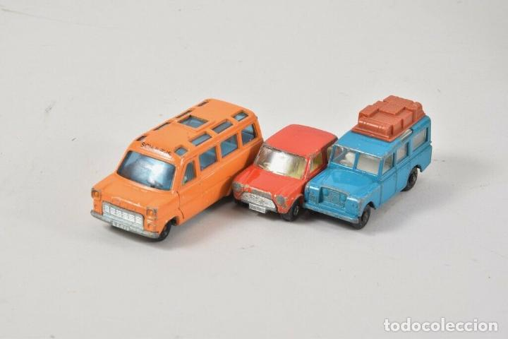 Coches a escala: colección juguetes coches ua. Matchbox, corgitoys, siku de 5,5 TRACTOR ORUGA HOJALATA 18 cm. 143 eu - Foto 4 - 199066062