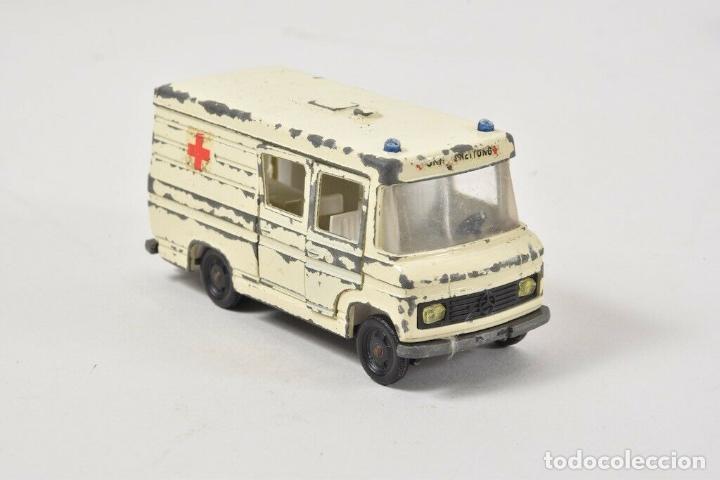 Coches a escala: colección juguetes coches ua. Matchbox, corgitoys, siku de 5,5 TRACTOR ORUGA HOJALATA 18 cm. 143 eu - Foto 3 - 199066062