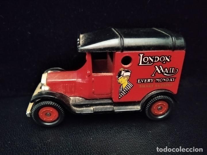 T FORD VAN, LONDON MAIL - CORGI AÑOS 70, DIECAST METAL- COCHE ANTIGUO- 8X5X4CM. (Juguetes - Coches a Escala 1:43 Corgi Toys)