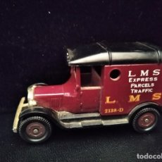 Coches a escala: T FORD VAN, LMS EXPRESS PARCELS TRAFFIC- CORGI AÑOS 70, DIECAST METAL- COCHE ANTIGUO- 8X5X4CM.. Lote 205698115