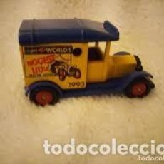 Coches a escala: T FORD VAN CORGI, CAMION WORLD´S RIGGEST LITTLE MOTOR SHOW. Lote 206461958