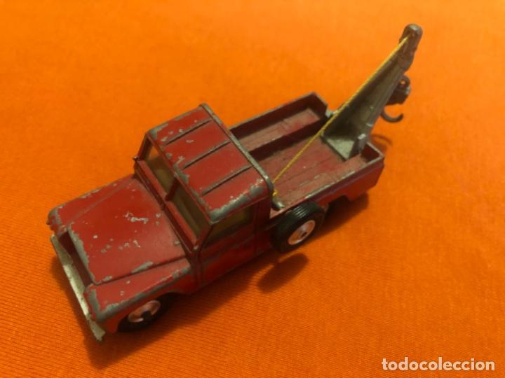 CORGI TOYS LAND ROVER GRUA 1/43 PRIMERAS SERIES (Juguetes - Coches a Escala 1:43 Corgi Toys)